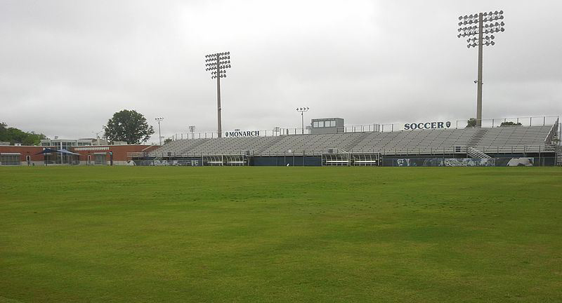 Soccer fields at Old Dominion University